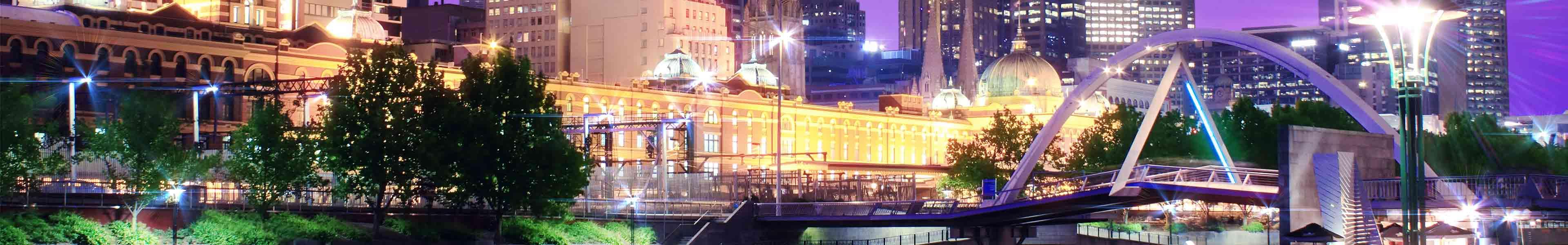 Image of Flinders Street From Yarra River/Southbank View